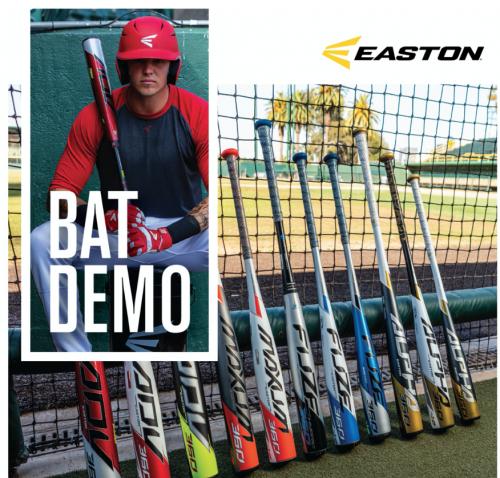 easton bat demo