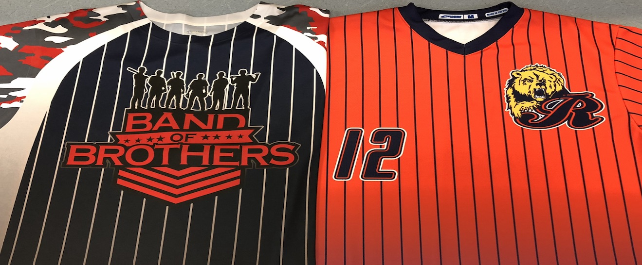 custom printed sublimated jerseys